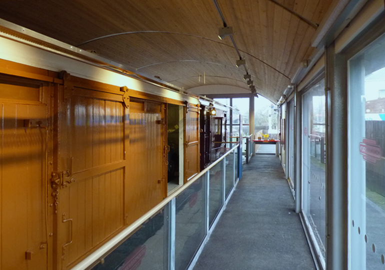 Monkwearmouth Station Museum - Carriage Enclosure